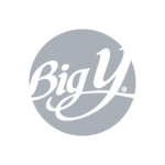 Big Y logo in grayscale