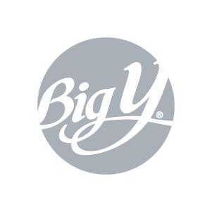 Big Y logo in grayscale
