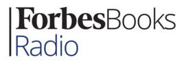Forbes Books Radio logo in black