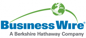 Business Wire logo in blue and green
