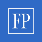 Financial Post logo in blue and white