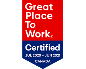 Great Place to Work Certified JUL 2020 - JUN 2021