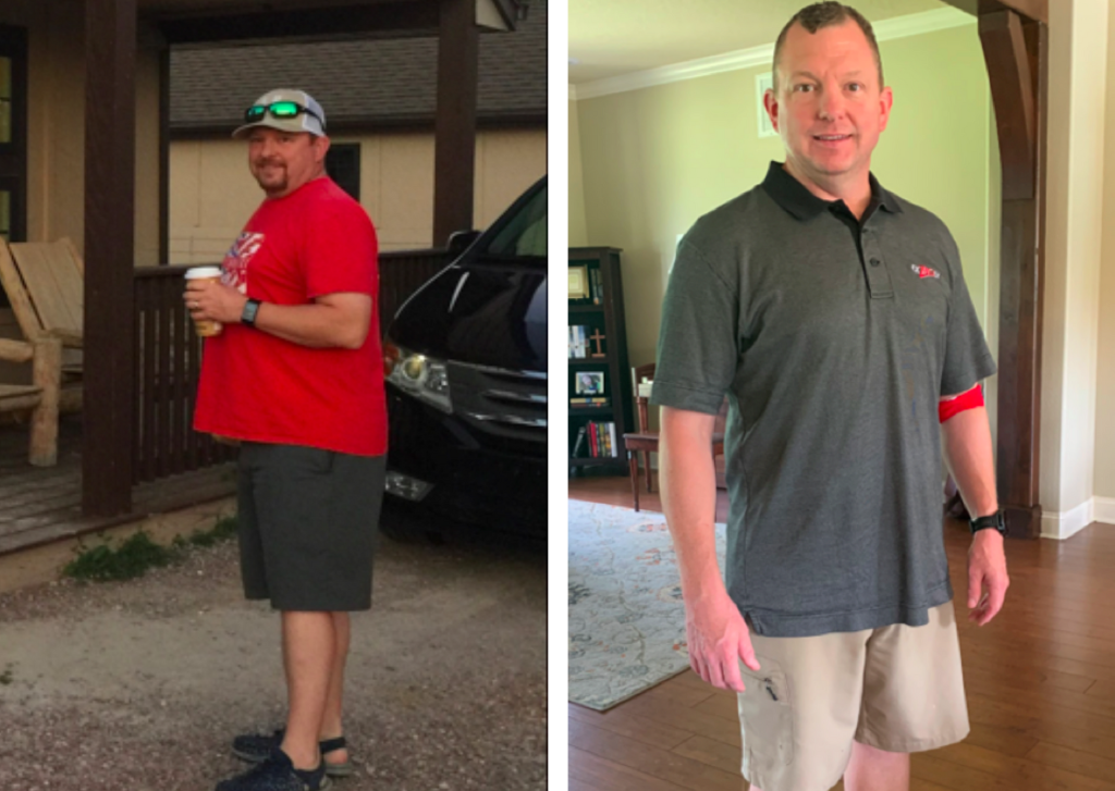 Weight loss results with Newtopia