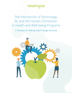 The Intersection of Technology, AI, and the Human Connection in Health and well-being programs