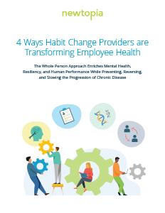 4 Ways Habit Change Providers are Transforming Employee Health