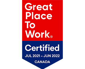 Great Place To Work Certified - Canada